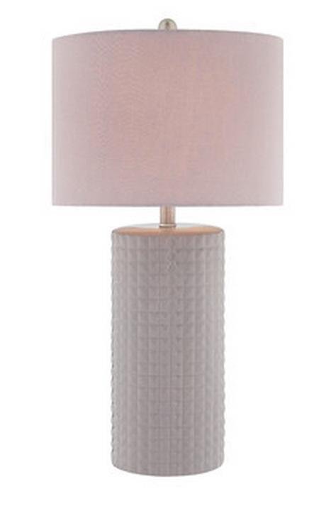 Diamond Pattern Table Lamp