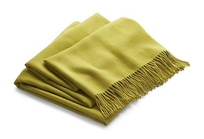 Alpaca Throw from Crate and Barrel $179