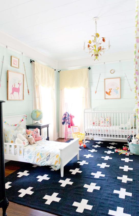 How to Create Shared Kid's Rooms  |  www.studio7creative.co