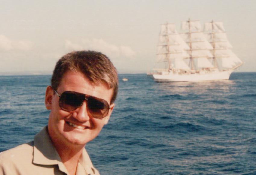 Tall ships race, Australia's Bicentenary, 1988.