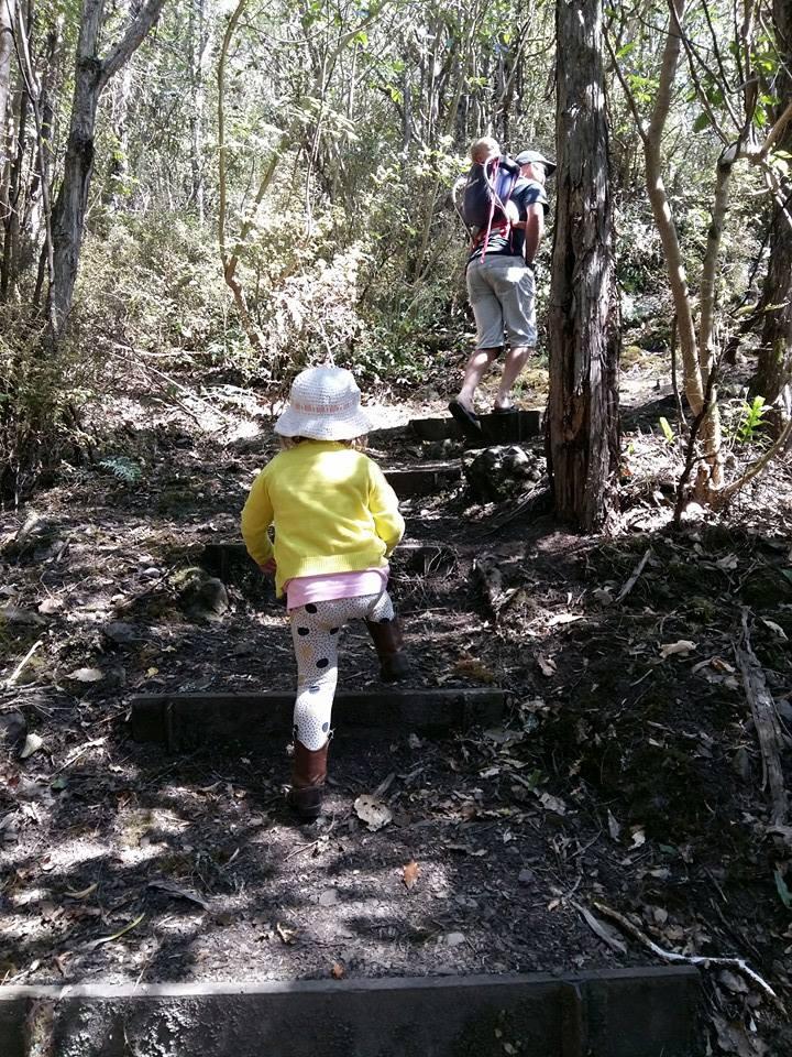 The initial climb
