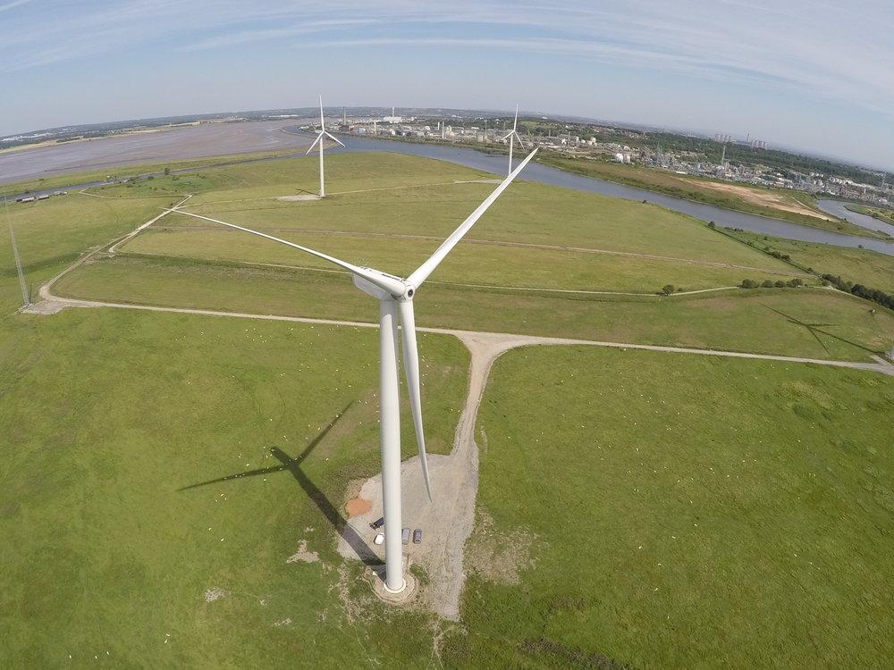 Frodsham Wind Farm Site Plan