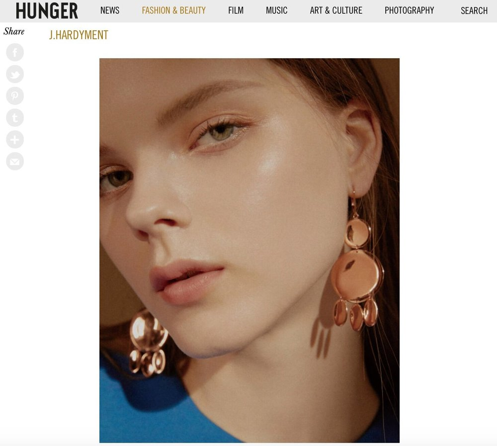 "Hunger Mag Online, ""5 Rising Jewellery Designers Inspired by Contemporary Art and Architecture"""
