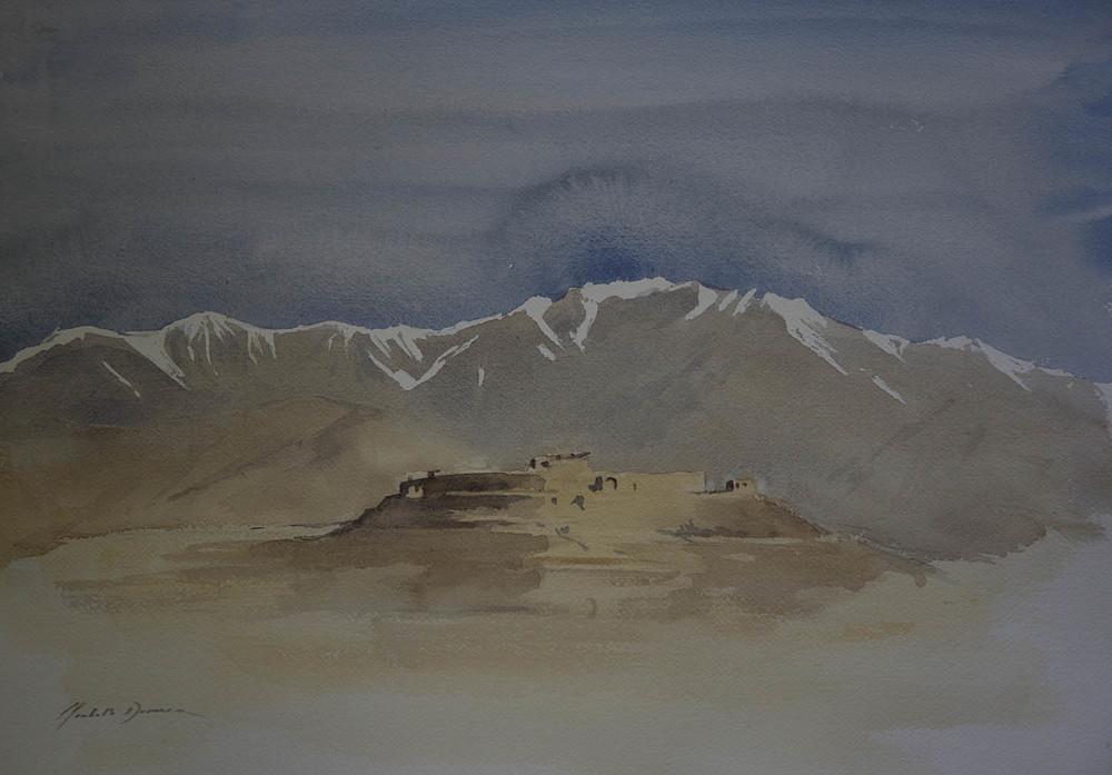 Kabul Fort, 2010, Afghanistan