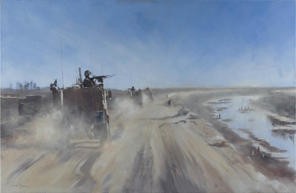 On Patrol, Nad-e-Ali, 2013, Afghanistan