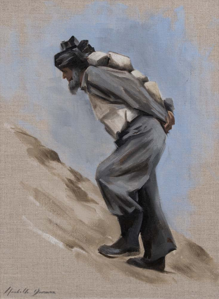 The Rock Carrier, 2010, Iraq