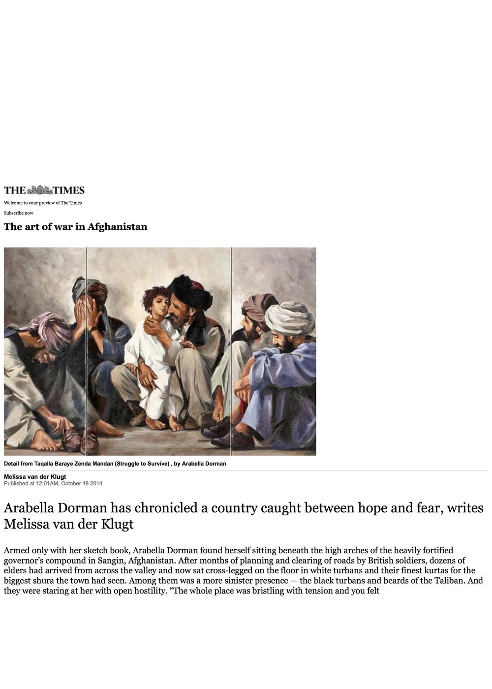 The art of war in Afghanistan | The Times.jpg