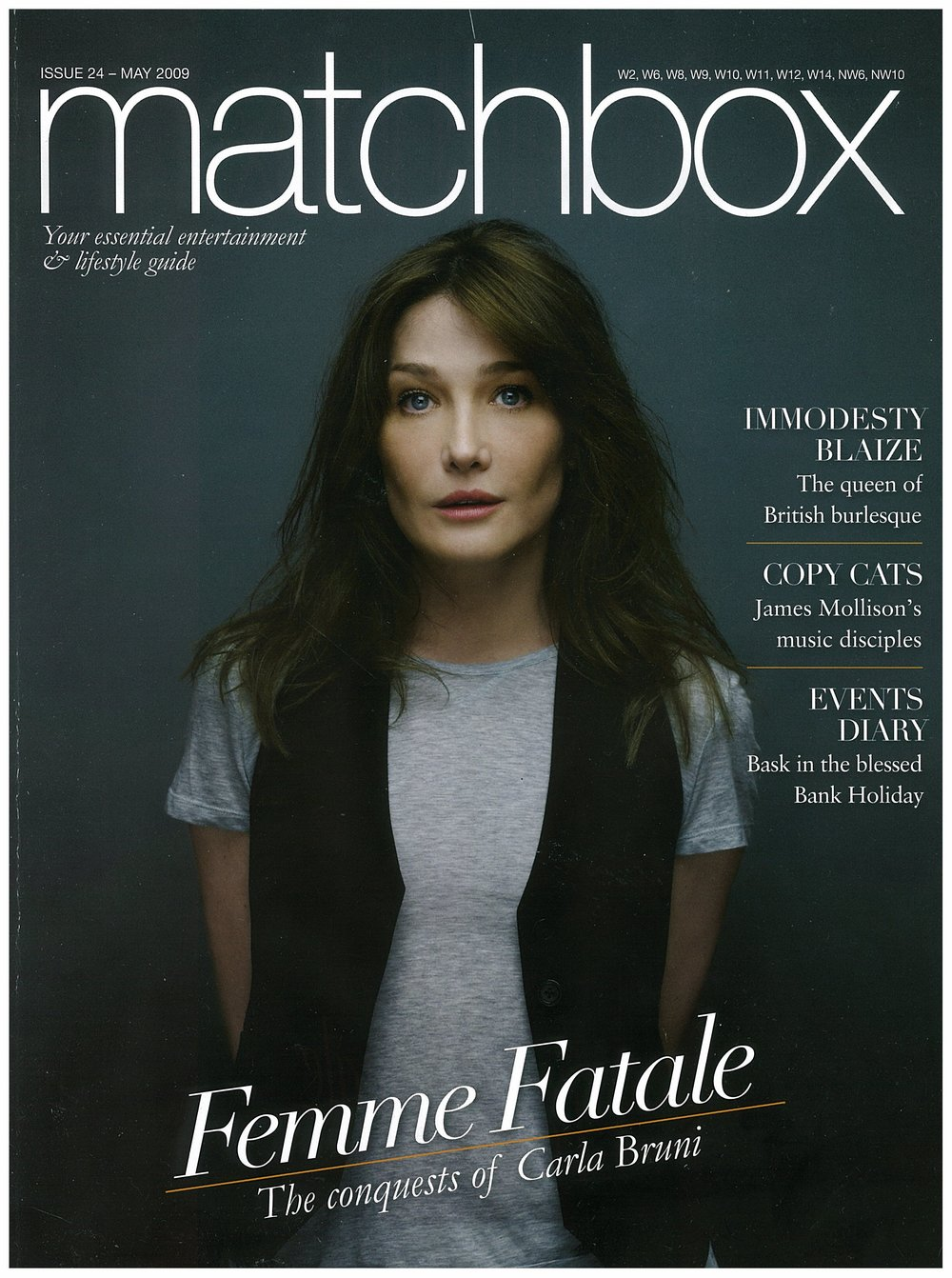 Matchbox Magazine (cover), May 2009.jpg