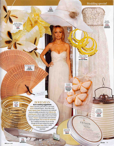 AS SEEN IN: OK! MAGAZINE
