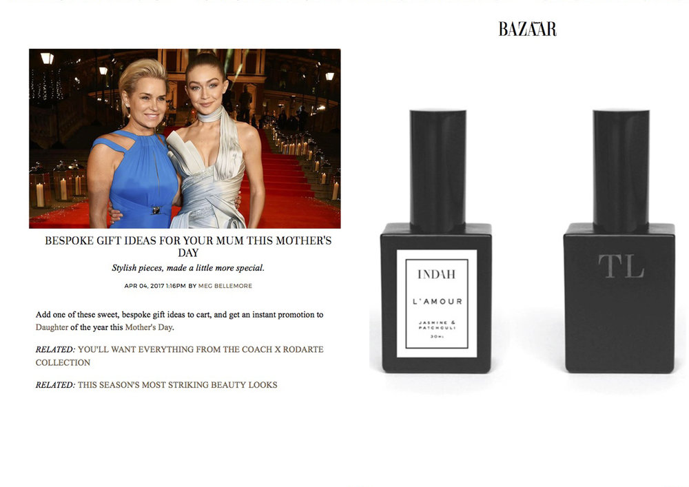 AS SEEN ON: HARPER'S BAZAAR