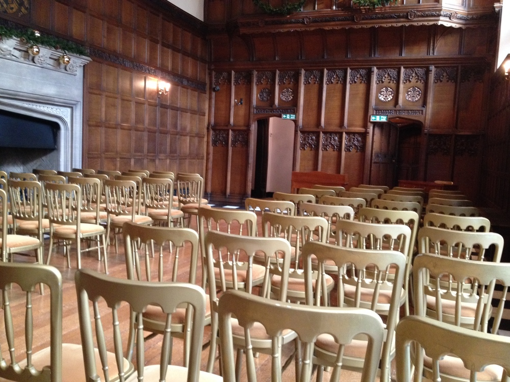 Hengrave Hall without chair covers