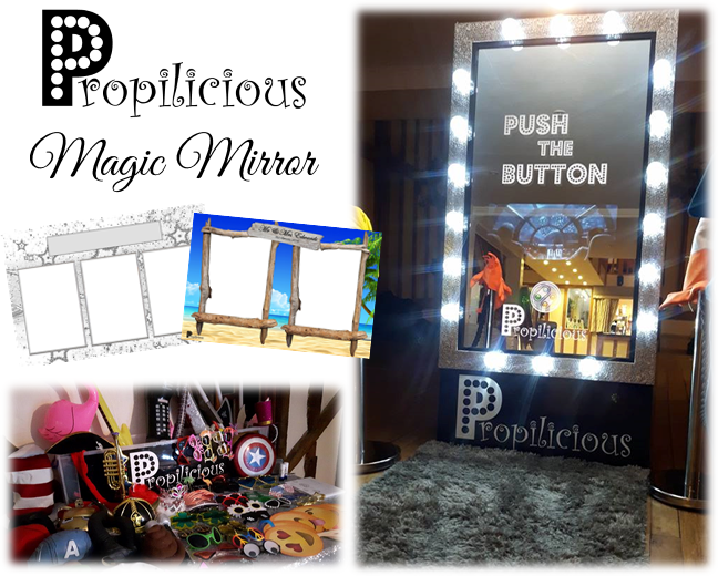 PLEASE LOOK AT OUR NEW MAGIC MIRROR!!