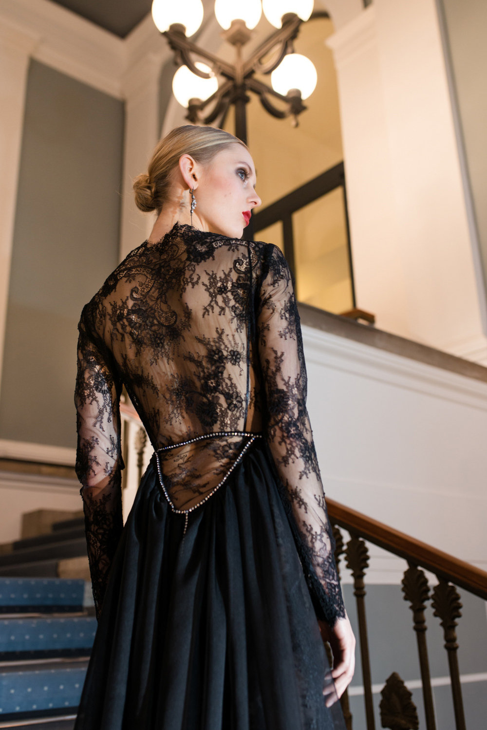 97b3b8e9173 Extravagantes Haute-Couture-Abendkleid Juliana — Torrox Hamburg ...