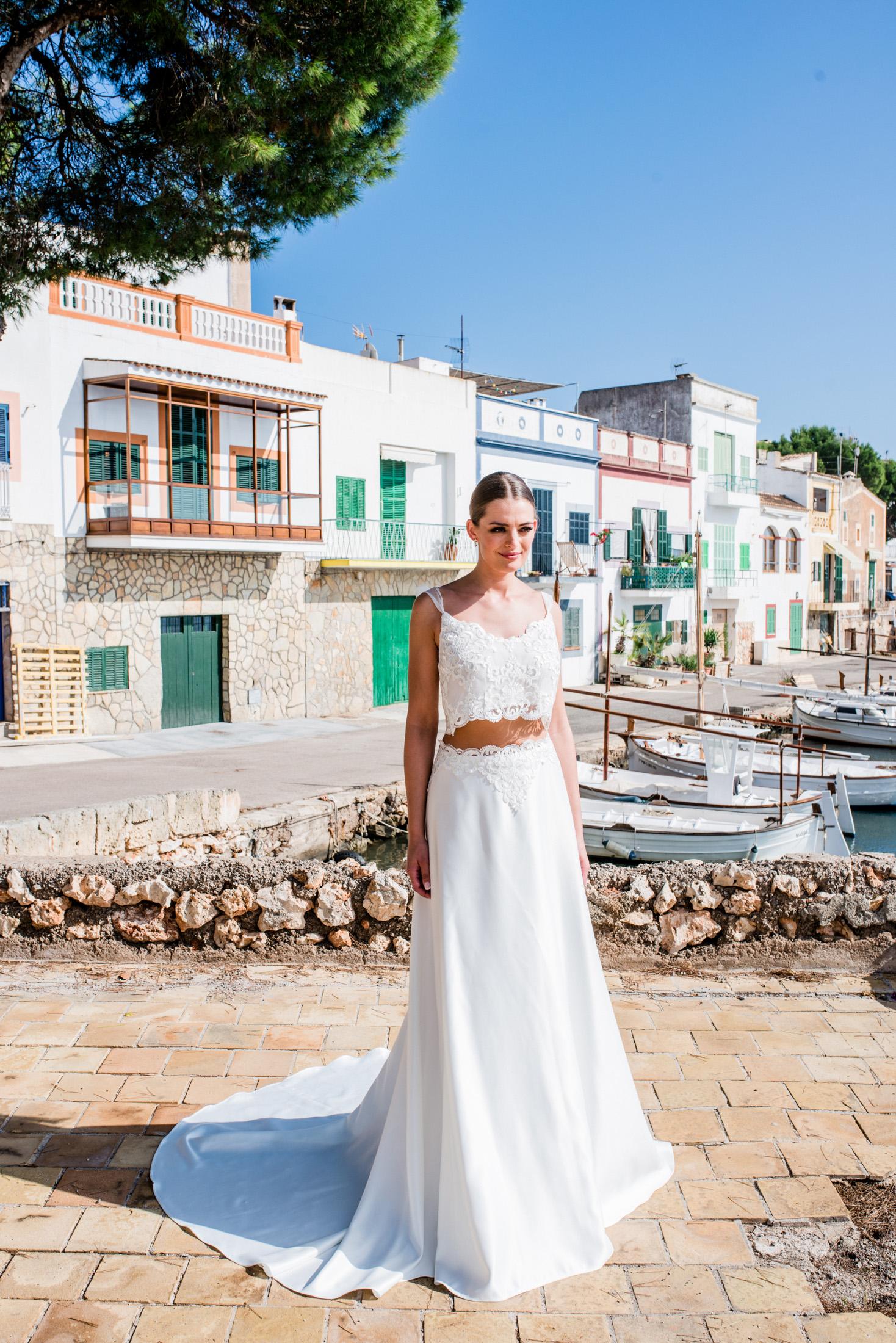 Antonia - extravagantes Brautkleid für die moderne Braut — Torrox