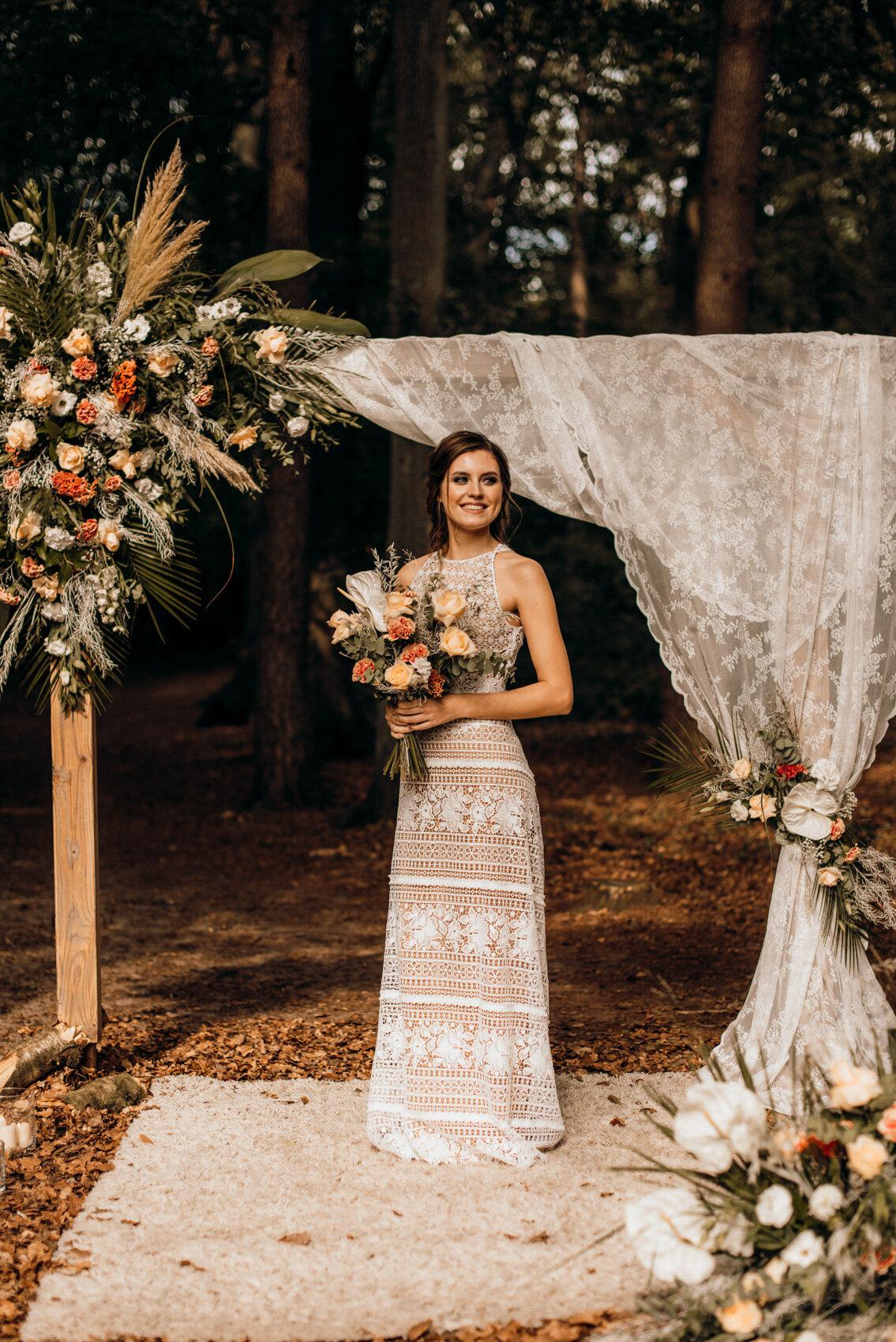 Hochzeitsinspiration mit Vintage-Brautkleid von Torrox Hamburg