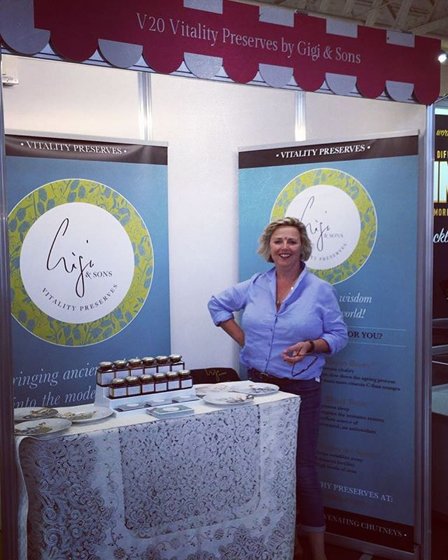 Very excited to be at Olympia setting up, a great buzz here! #V20. #healthypreserves #premiumpreserves #luxurychutneys #luxuryjams #luxurypreserves #sfffoodie #sfff #london #yummy #SFFF16 #foodies #newexhibitors #specialityfood #foodie