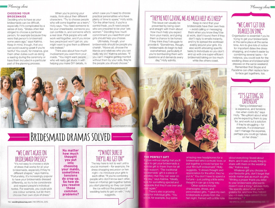 Wedding Ideas magazine - July 2015