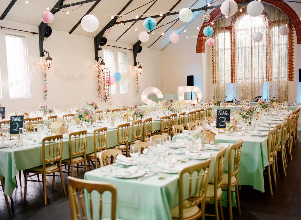 london wedding planner pastel fun