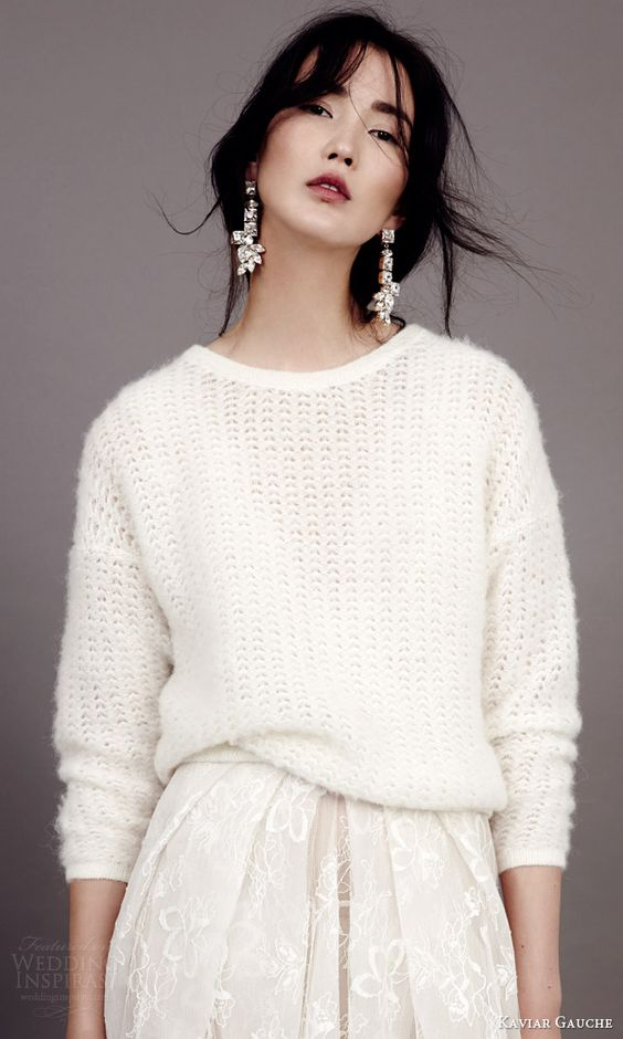 bridal knitwear jumper