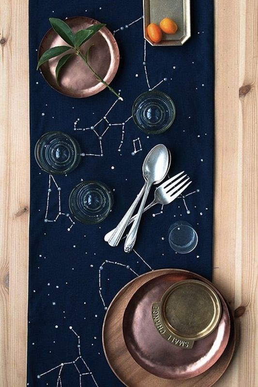 wedding inspiration ideas theme stars moon space