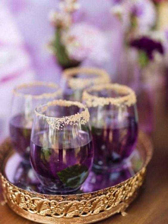ultraviolet wedding colour