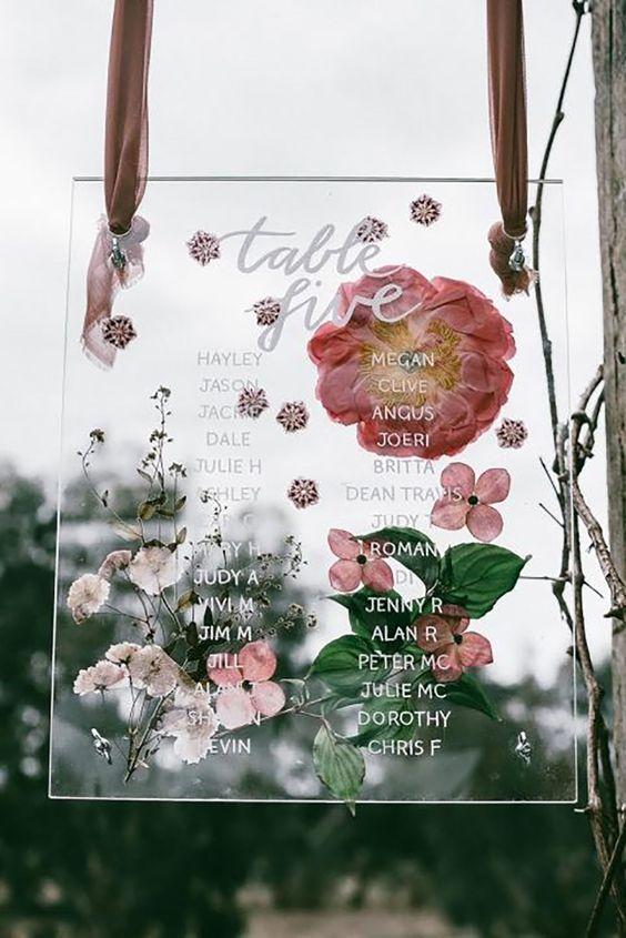transparent wedding