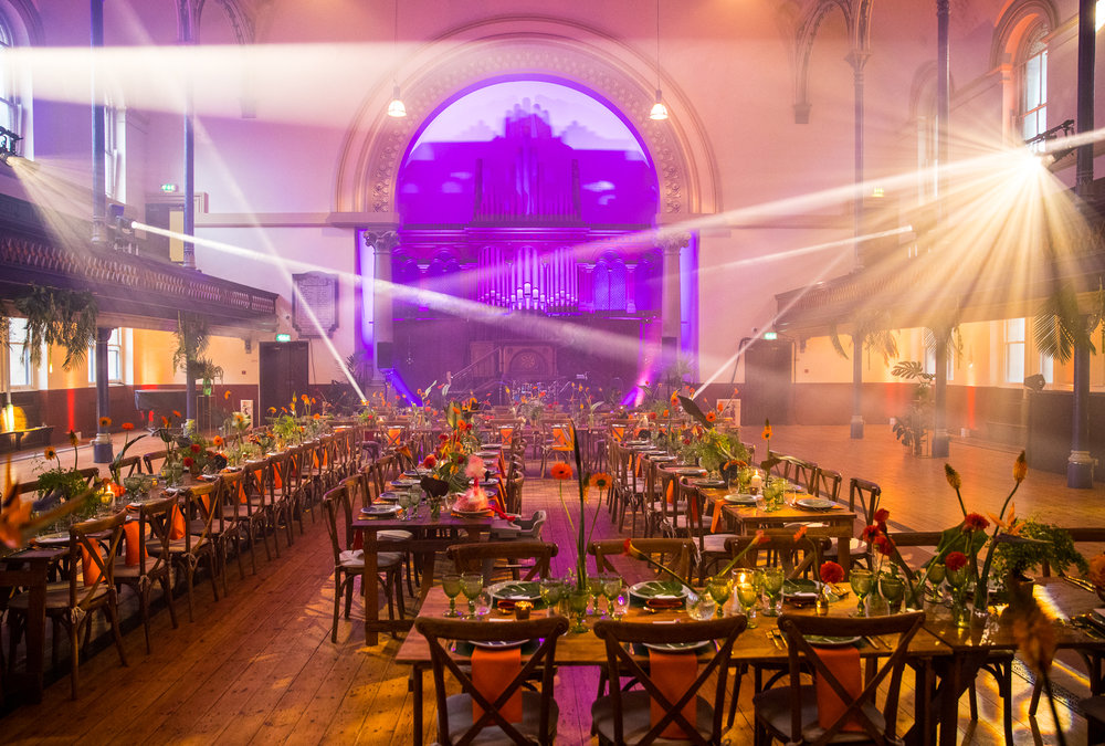 creative wedding planner london revelry