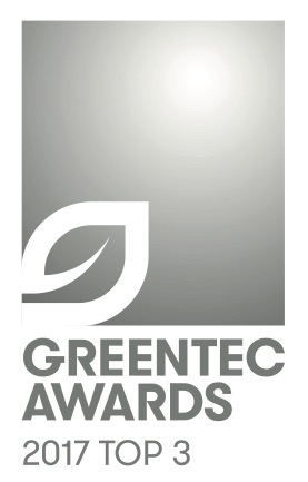 Showerloop is a nominee for the GREENTEC AWARDS 2017