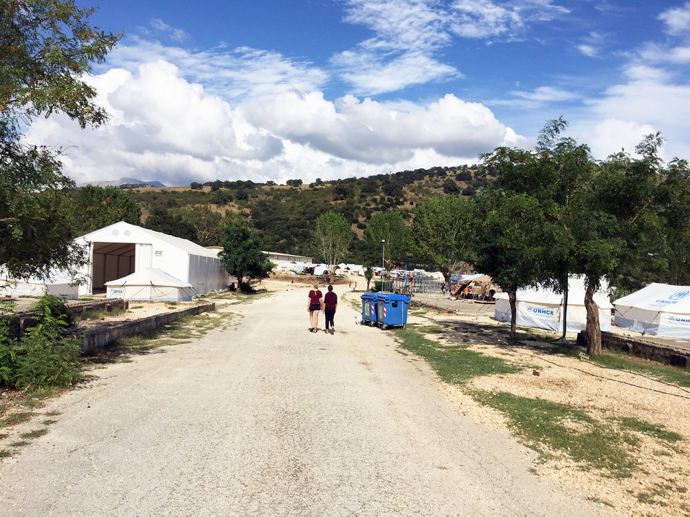 Filippiada Refugee Camp in the North of Greece (Jasmine Garnsworthy / Lighthouse Relief)