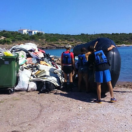Palios finally finished! Shiny beaches! Thanks to every body that made it possible! #eco #volunteering #beaches #Palios