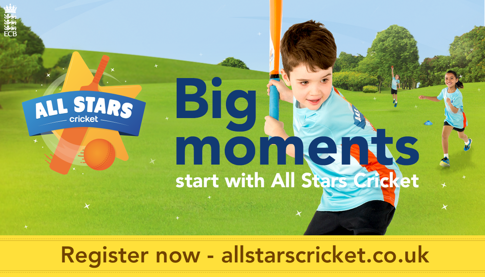 All Star Cricket Banner