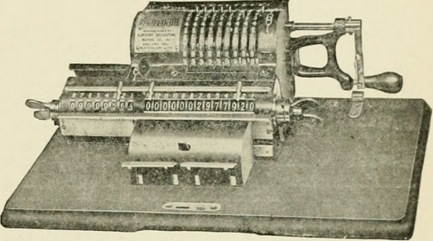 Marchant calculating machine By internet archive book images