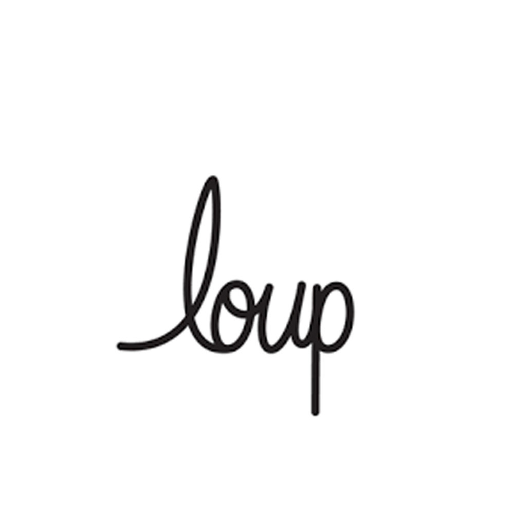 LOUP  A Parisian-inspired clothing for women that is passionate about finding the perfect fit. Pulling vintage details from the wardrobes of icons designed with real women in mind. (NYC)