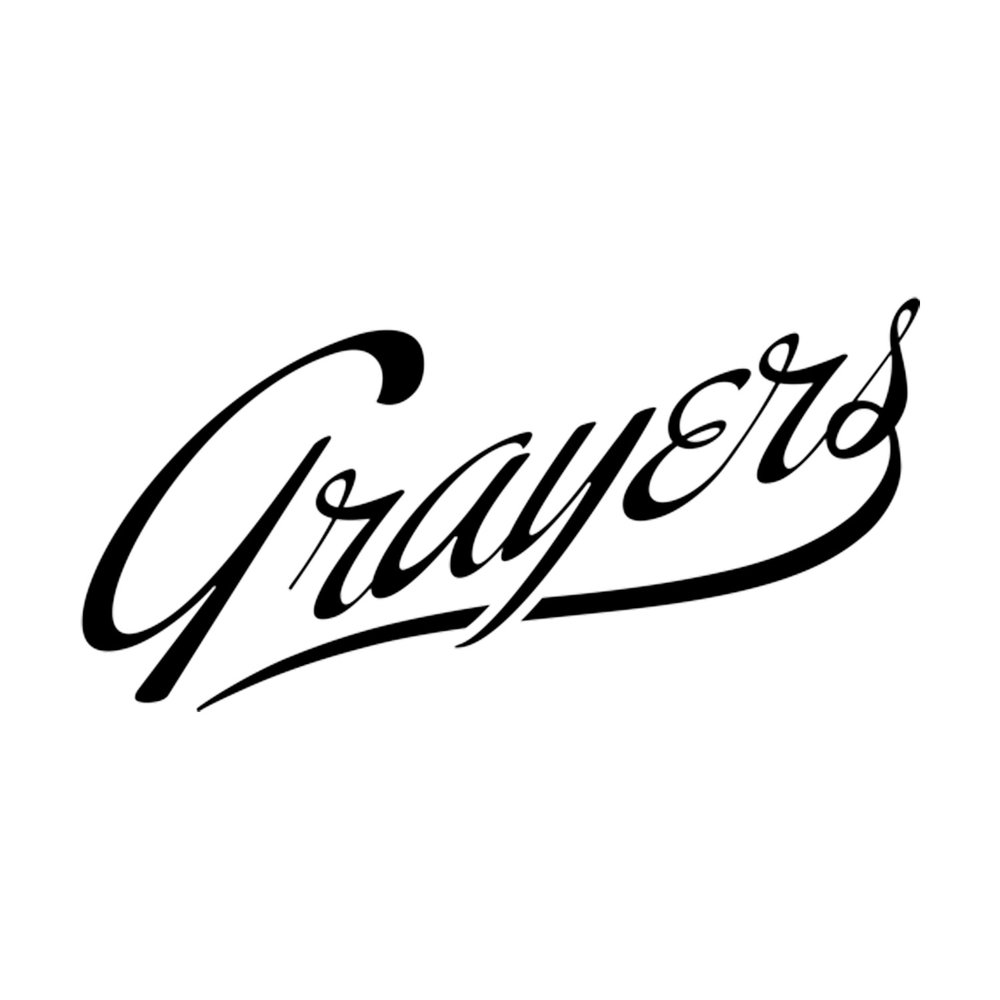 GRAYERS  A brand that rewrites the classics and makes them uniquely Grayers - well crafted, redefined and modernized - in a way that doesn't break the bank. Focusing on digging up and developing interesting fabrics and textiles, innovative ways of weaving, knitting, cutting and sewing. (NYC)
