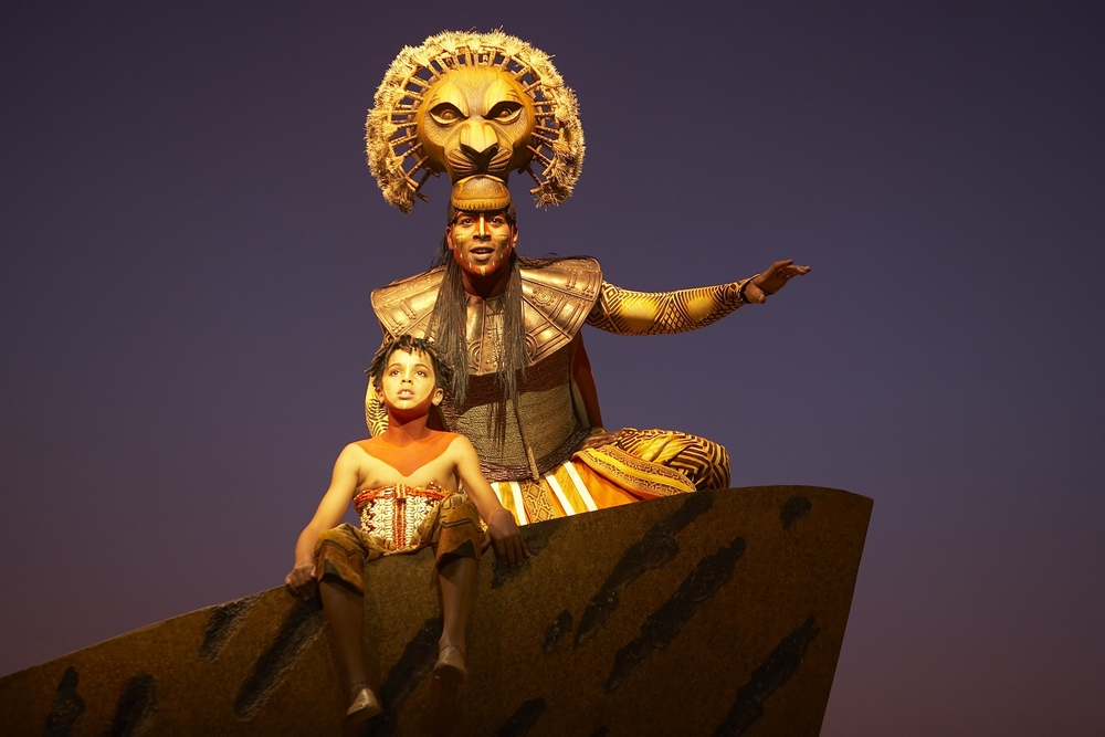 Disney´s Le Roi Lion , Théâtre Mogador, Paris