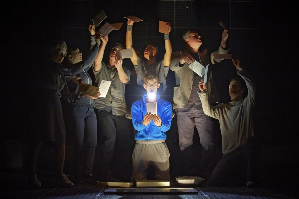 The Curious Incident of the Dog in the Night-Time  , Westend, London   Luke Treadaway  and cast