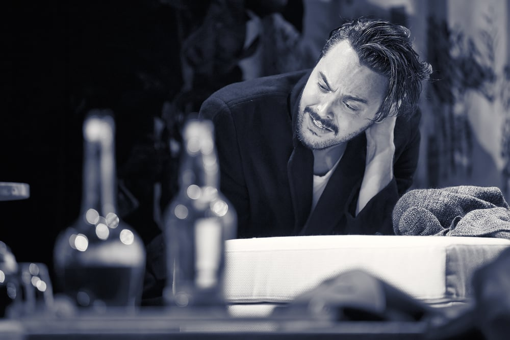 Strangers On A Train  , Gielgud Theatre, London   Jack Huston