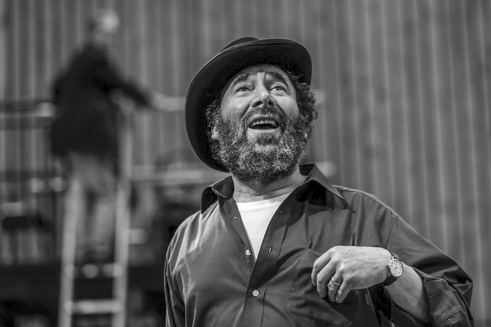 The Captain Of Kopenick  , Rehearsals, NT, London   Sir Antony Sher