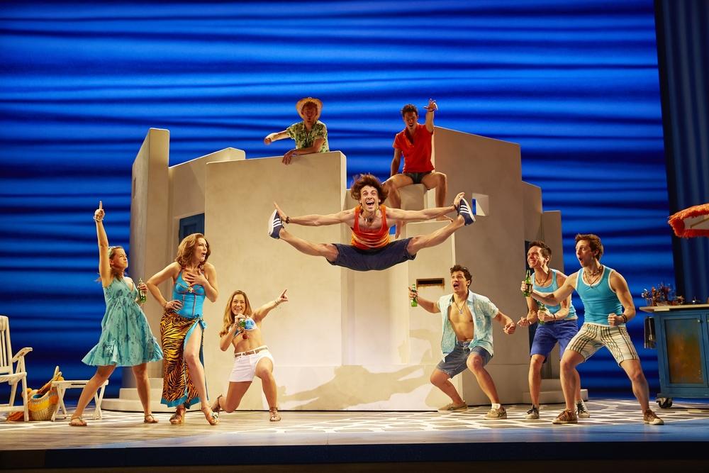 Mamma Mia!  Raimund Theater, Vienna, Austria