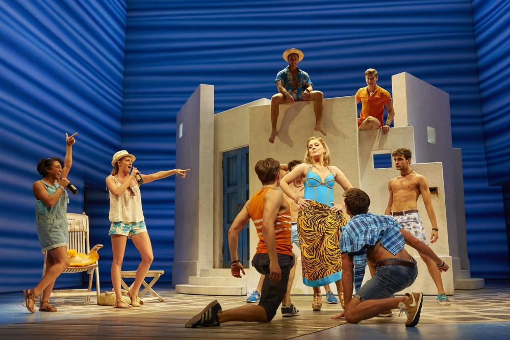 Mamma Mia!  Novello Theatre, London