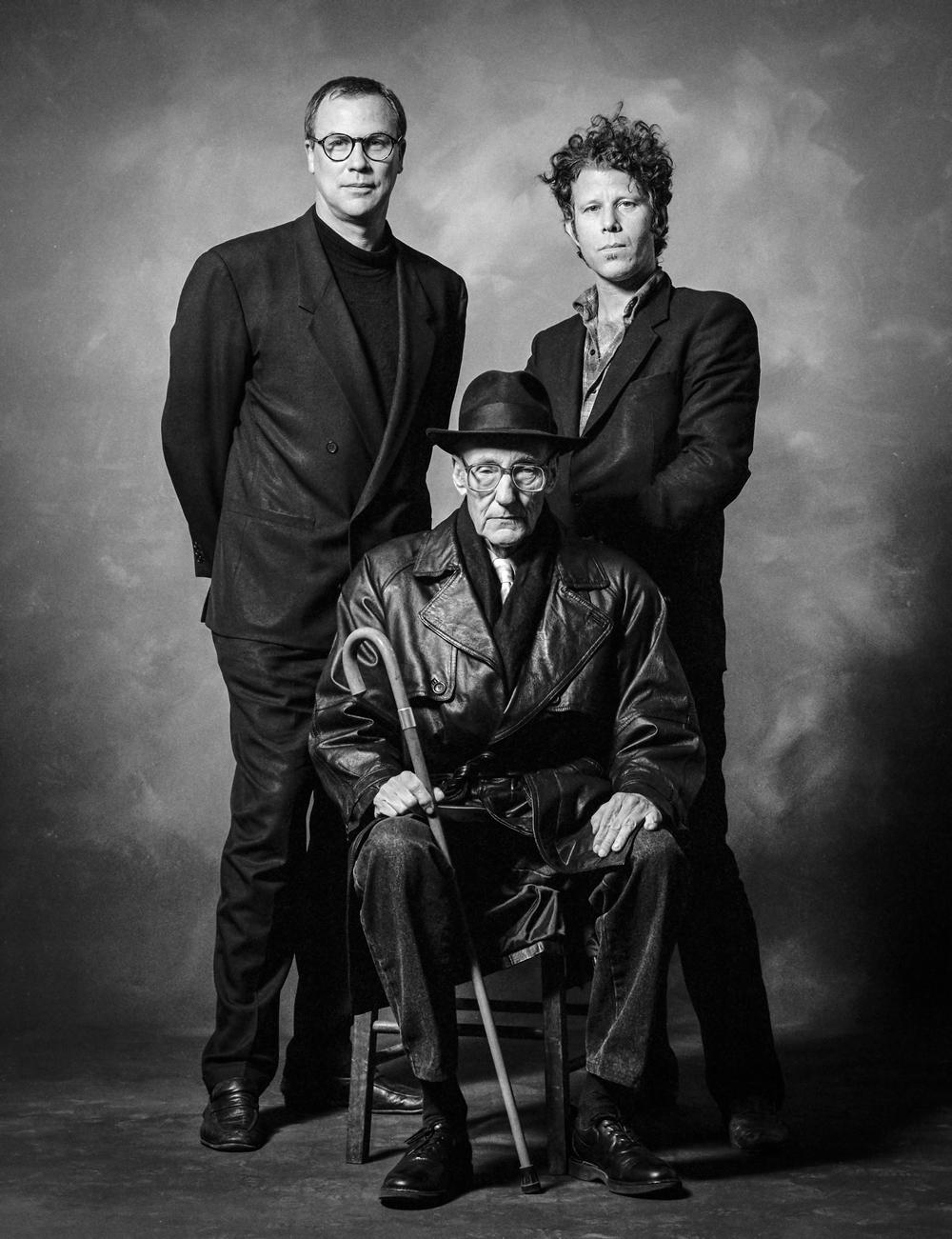 Robert Wilson   ,    Tom Waits   ,    William S. Burroughs