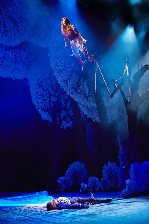 The Light Princess  , National Theatre, London   Rosalie Craig ,  Nick Hendrix
