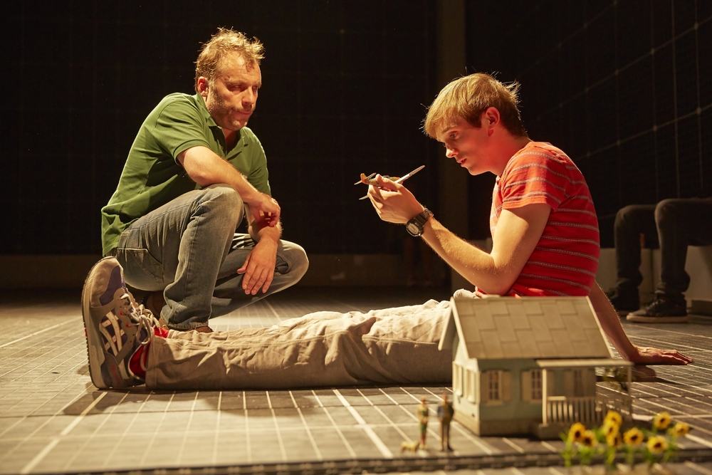 The Curious Incident of the Dog in the Night-Time , NT, Gilgud Theatre, London