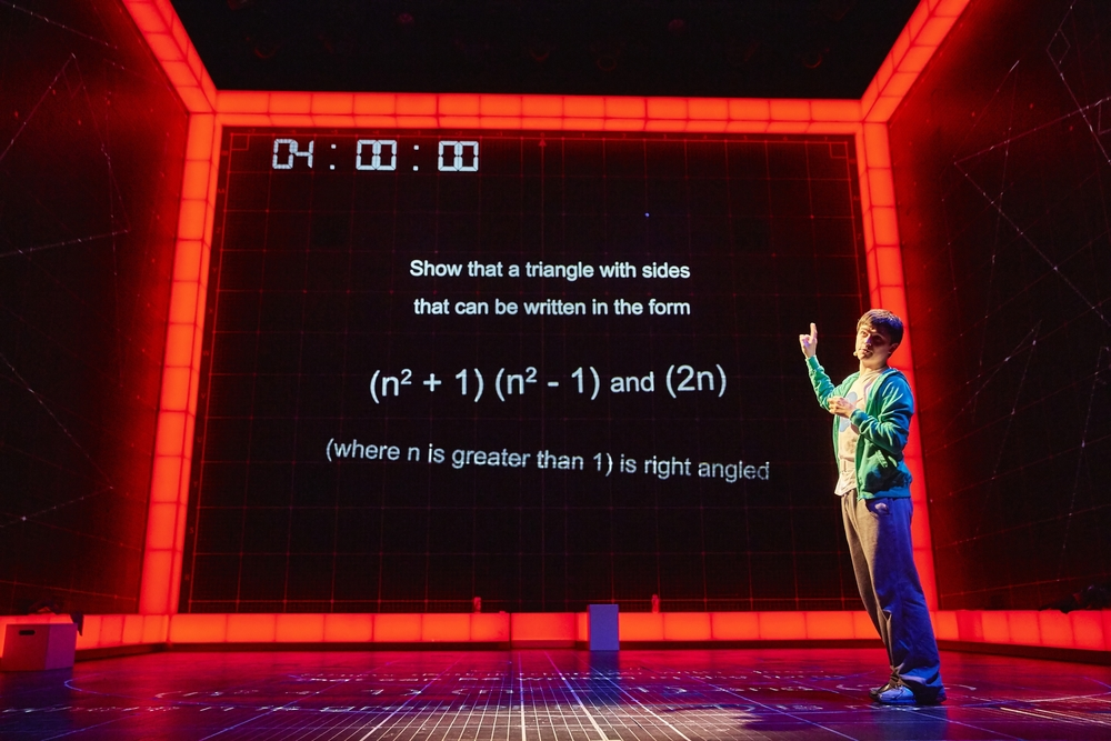 The Curious Incident of the Dog in the Night-Time , NT, UK Tour