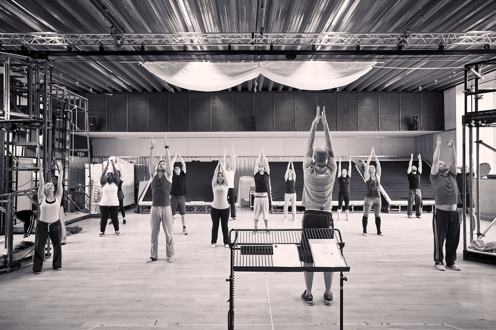 The Light Princess , Rehearsals, NT. London