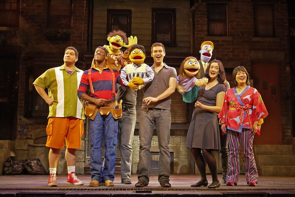 Avenue Q , Noël Coward Theatre, London