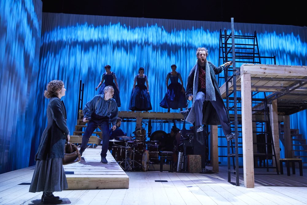 Jane Eyre  , National Theatre, UK Tour   Nadia Clifford,   Paul Mundell,   Tim Delap