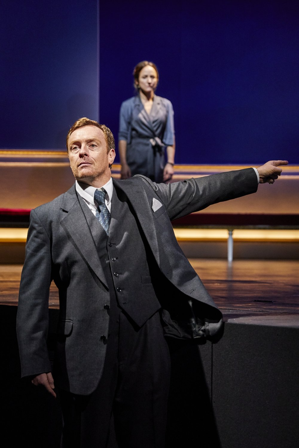 Oslo ,  National Theatre, London   Toby Stephens ,  Lydia Leonard