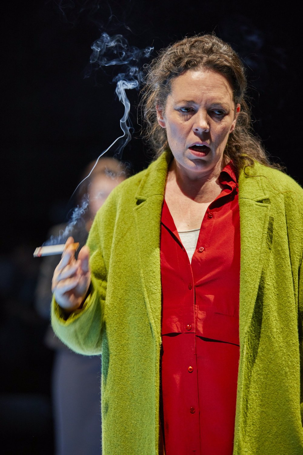 Mosquitoes  ,  National Theatre, London   Olivia Colman