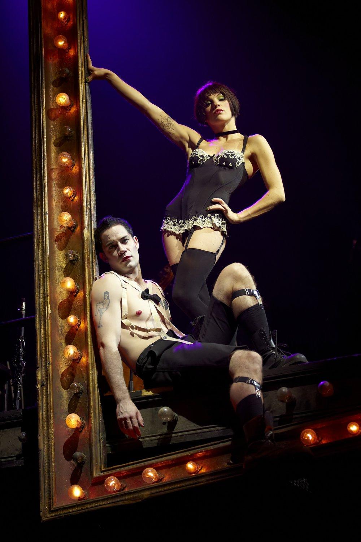 Cabaret  , Théâtre Marigny, Paris   Emmanuel Moire ,  Claire Pérot